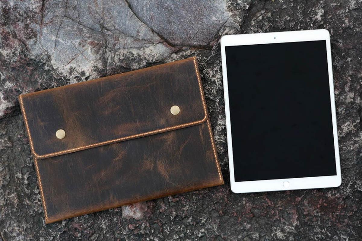 túi đựng ipad cầm tay handmade