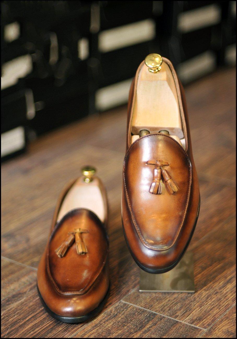 Giày da bò công sở SG0002V