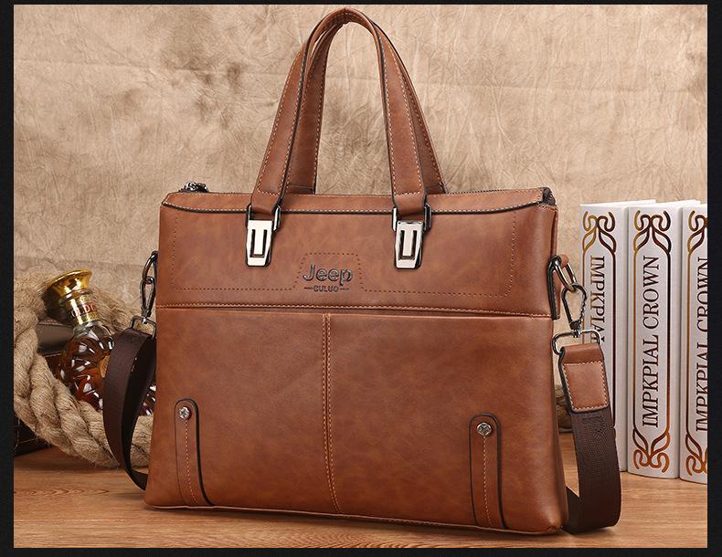 Túi da đựng laptop SJE15