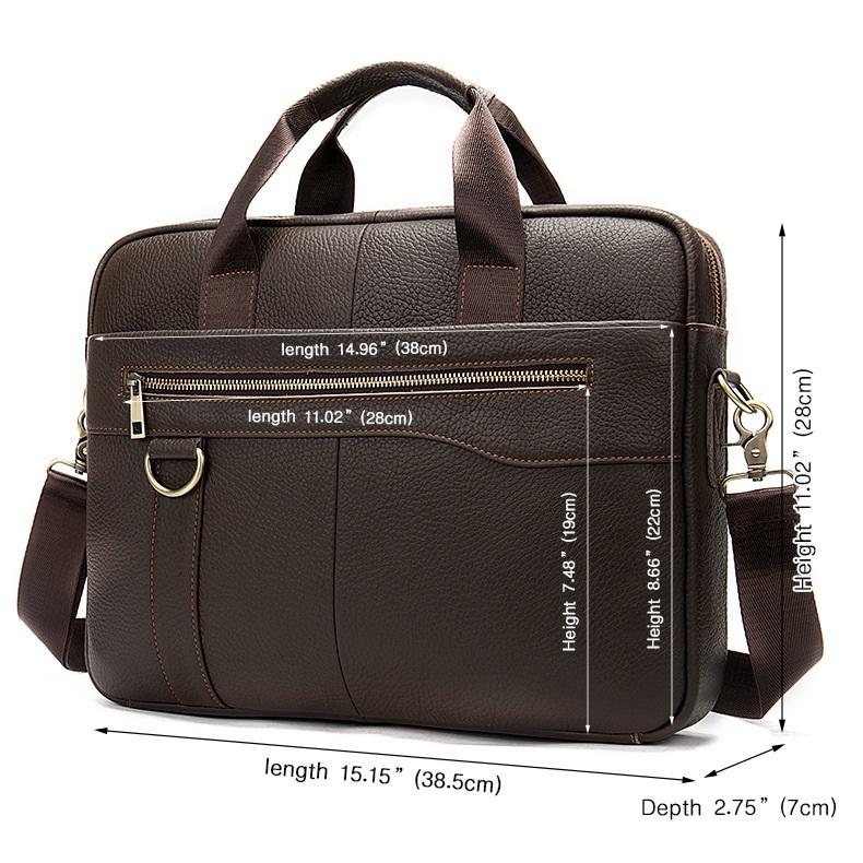 Túi xách da đựng laptop nam nữ thời trang công sở hàng hiệu SJE15