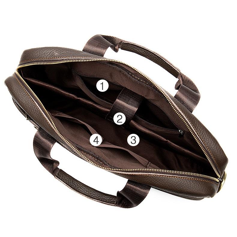 Túi xách da đựng laptop nam nữ thời trang công sở hàng hiệu SJE15-1