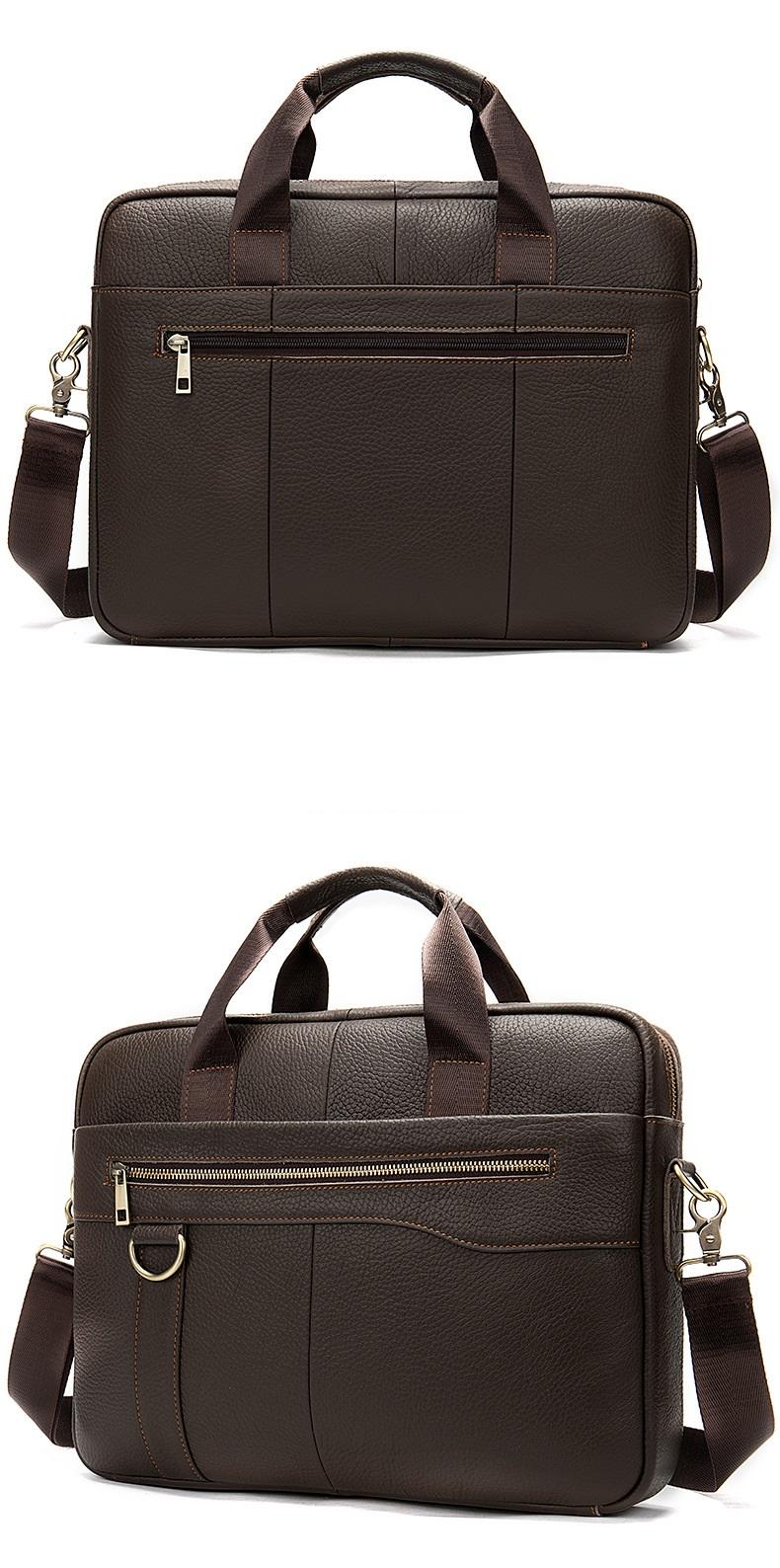 Túi xách da đựng laptop nam nữ thời trang công sở hàng hiệu SJE15-5