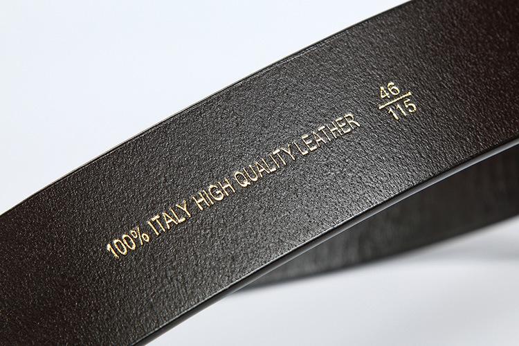 Dây Thắt lưng nam mặt chữ H hàng hiệu SVN