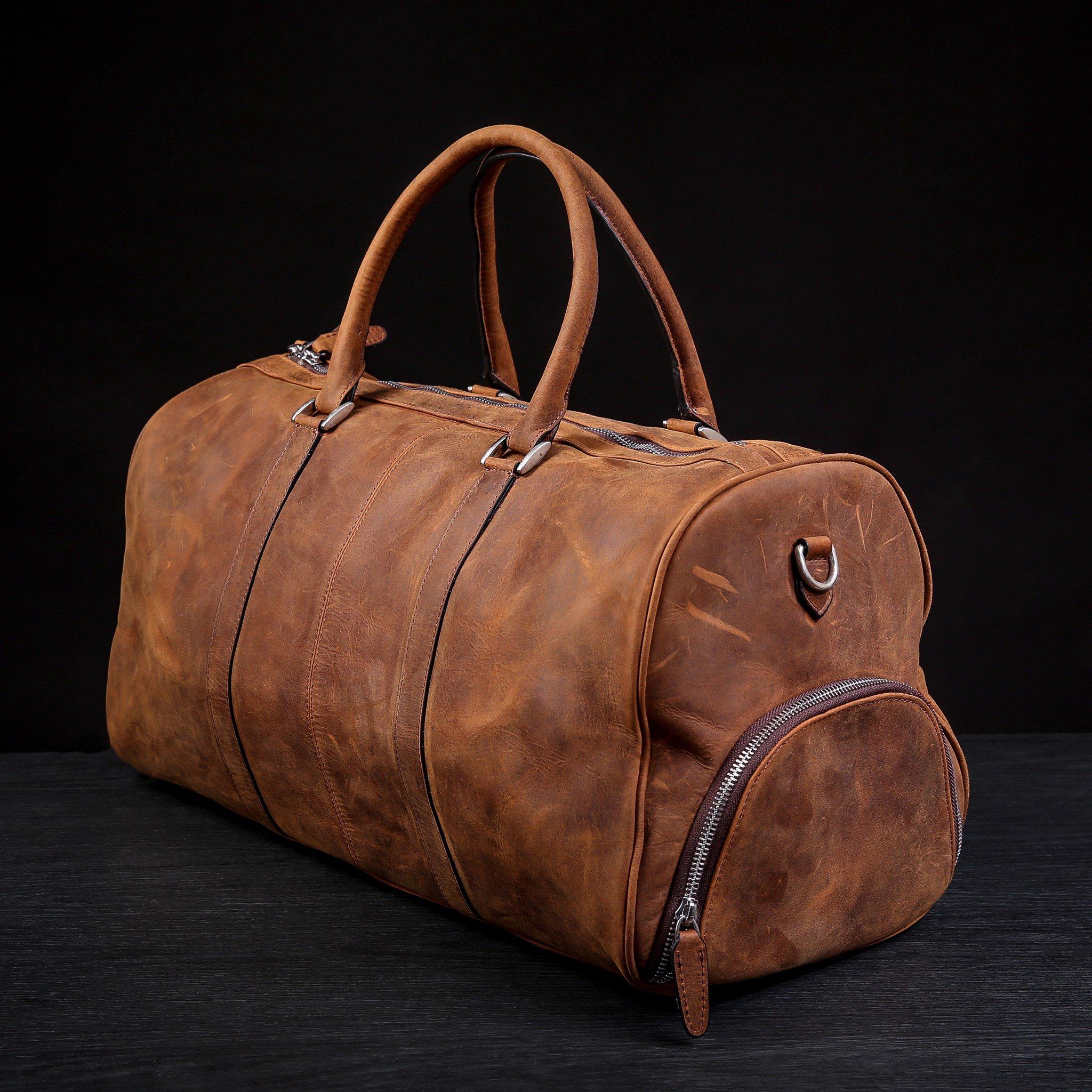 Túi xách du lịch da bò hàng hiệu xuất mỹ