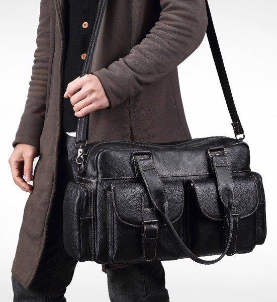 Túi trống du lịch da bò thời trang hàng hiệu M55