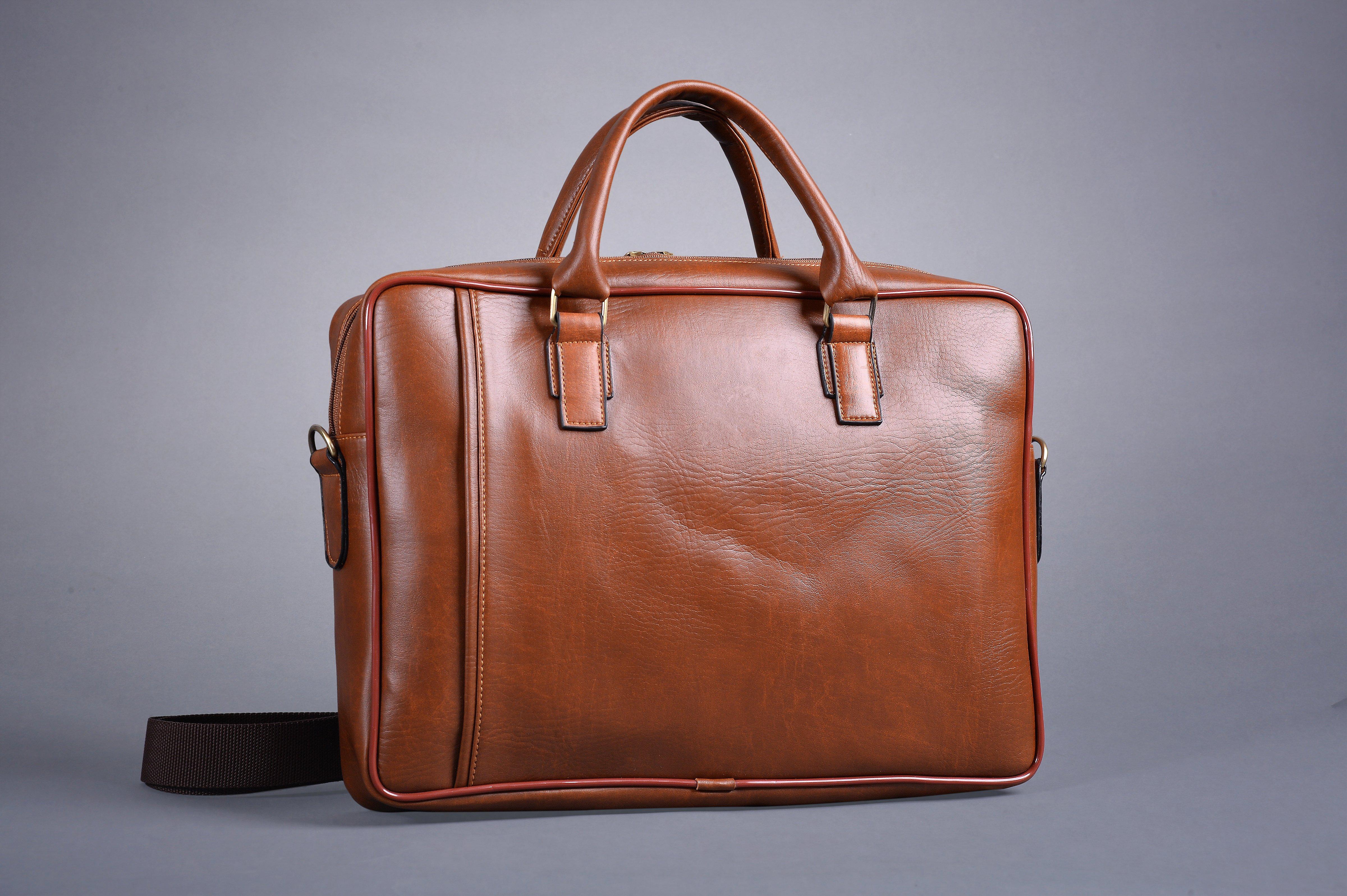 Túi da nam đựng laptop DS02 thời trang
