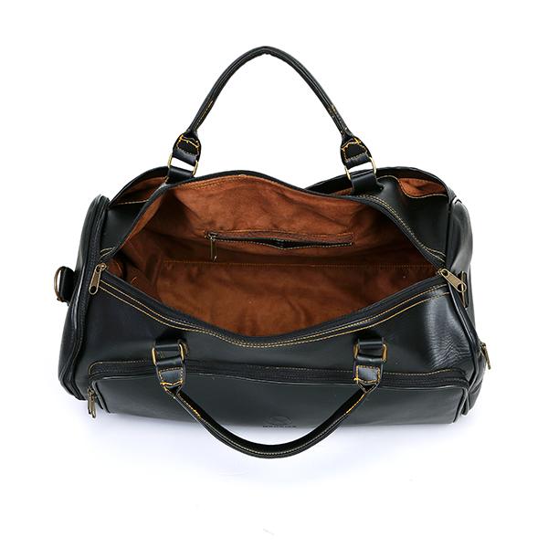 Túi xách du lịch MS02 Black hàng hiệu
