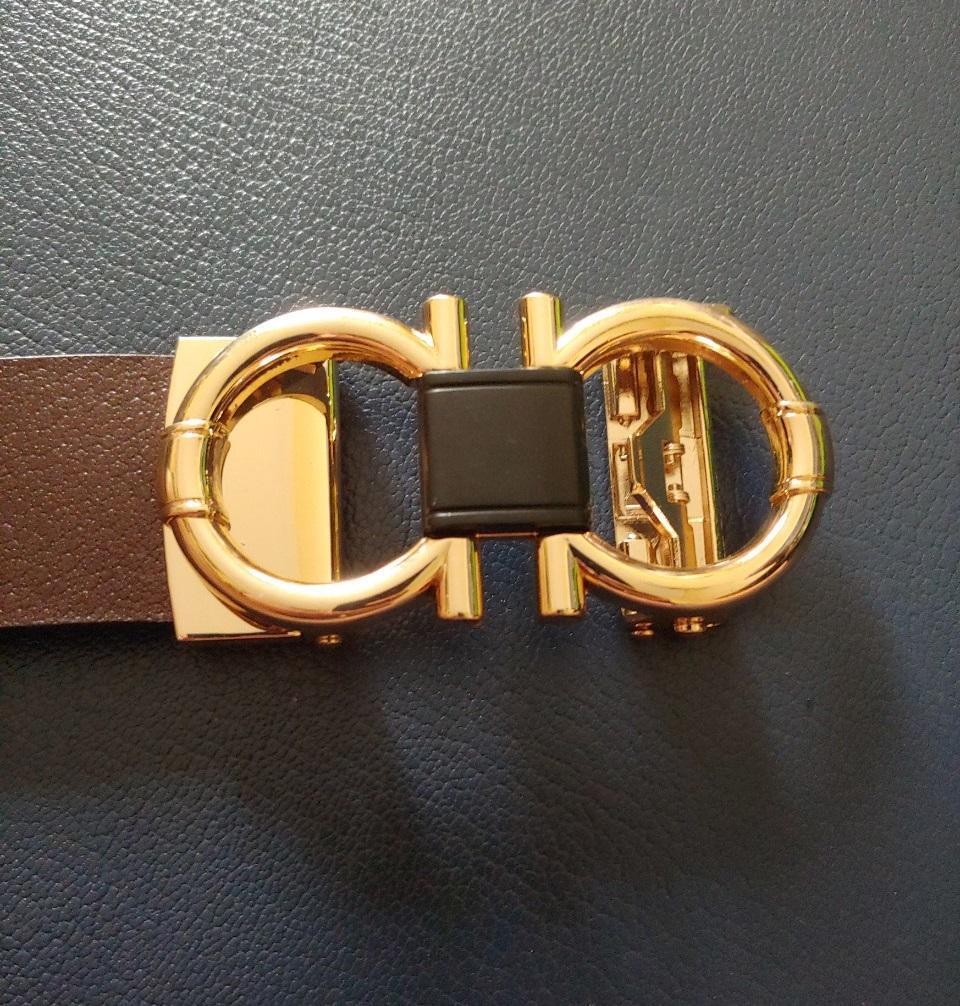 Thắt Lưng Nam Khóa Số 8 Gold Titan chuẩn soái ca