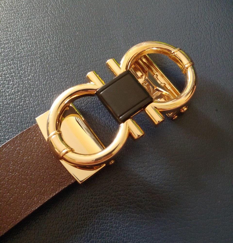 Thắt Lưng Nam Khóa Số 8 Gold Titan dành cho doanh nhân