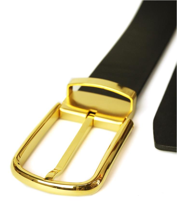 thắt lưng nam khóa kim gold chống trầy xước