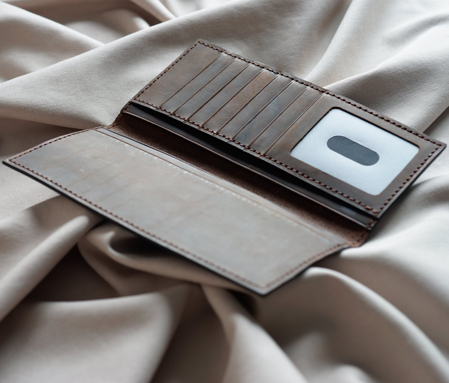 dạy cách làm ví da cầm tay handmade
