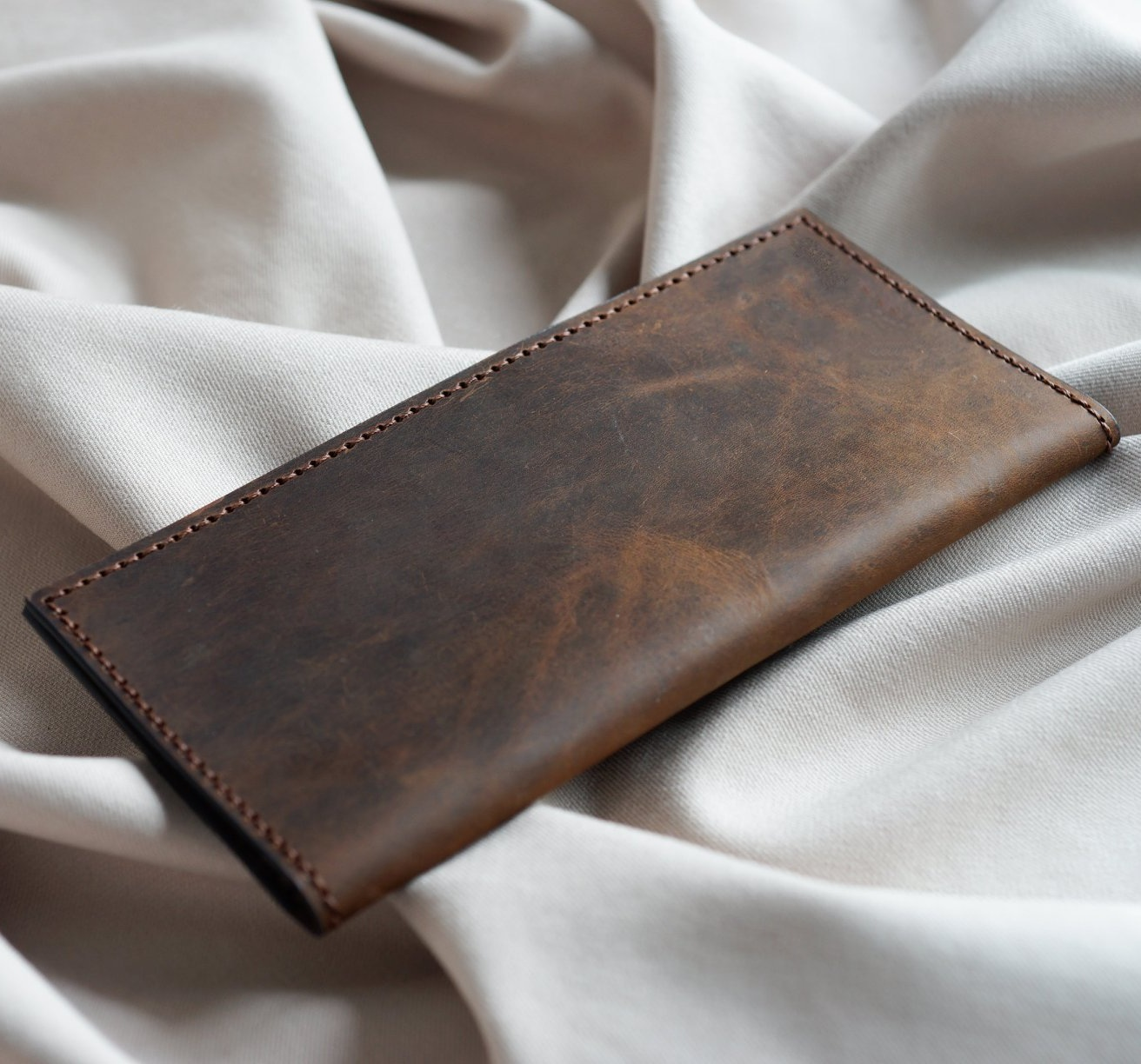 ví da cầm tay handmade siêu đẹp VDH4