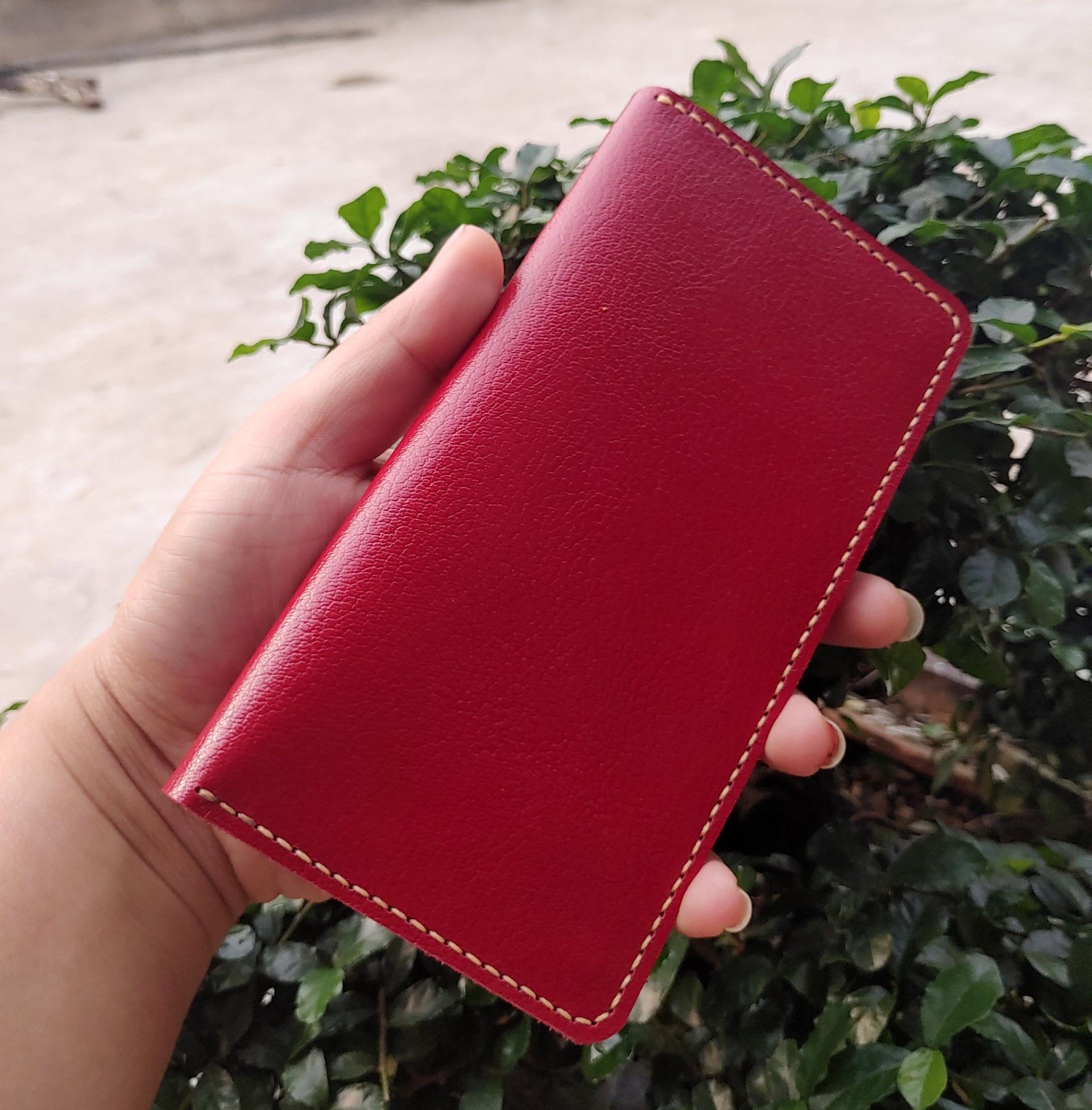 Bao da kiêm ốp lưng và ví cầm tay cho điện thoại samsung galaxy Note 8-9