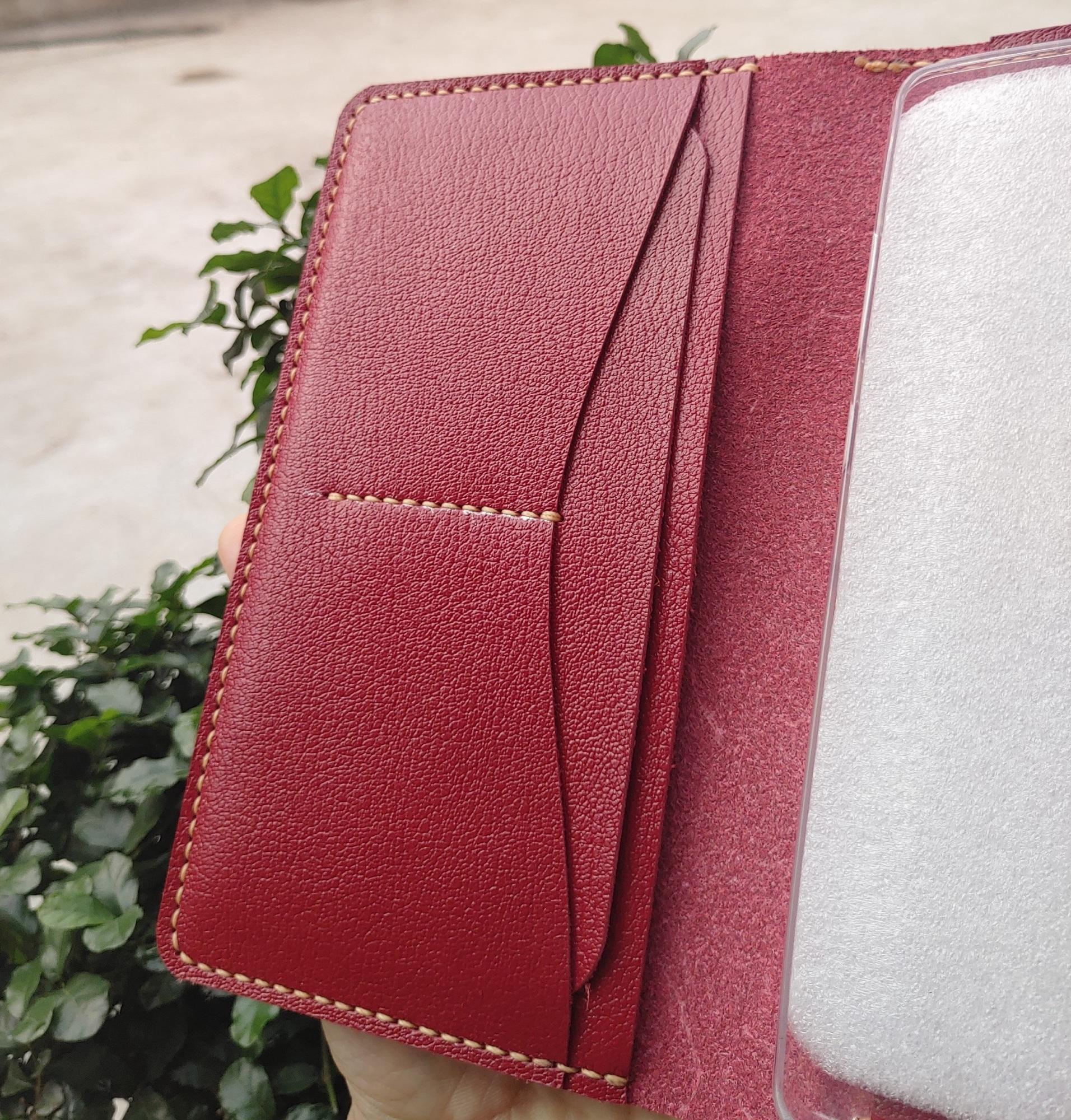 Bao da kiêm ốp lưng và ví cầm tay cho điện thoại samsung galaxy Note 8-5