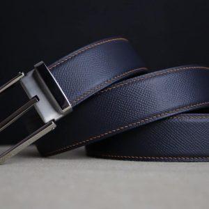 Thắt Lưng Nam Handmade Khóa Kim Da Epsom Đẳng Cấp Hàng Hiệu MS59