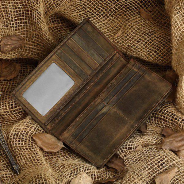 Ví Da Nam Cầm Tay Khâu Thủ Công Đẳng Cấp Handmade C503