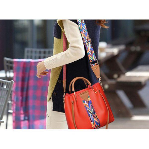 Túi xách nữ tặng kèm túi đeo chéo nữ thời trang hàn quốc S782