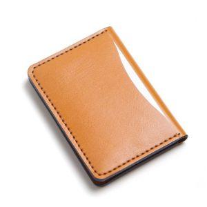 Bóp Da Mini Phiên Bản Unisex Da Bò Khâu Thủ Công MST1 Brown