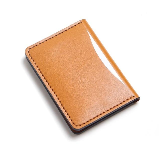 Bóp Da Mini Phiên Bản Unisex Da Bò Khâu Thủ Công MST1 Brown-1