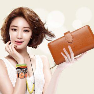 Ví nữ cầm tay thời trang hàng hiệu Uni1408