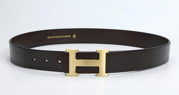 Thắt lưng nam, Nịt bụng thời trang cao cấp mặt chữ H hàng hiệu SVN-H2