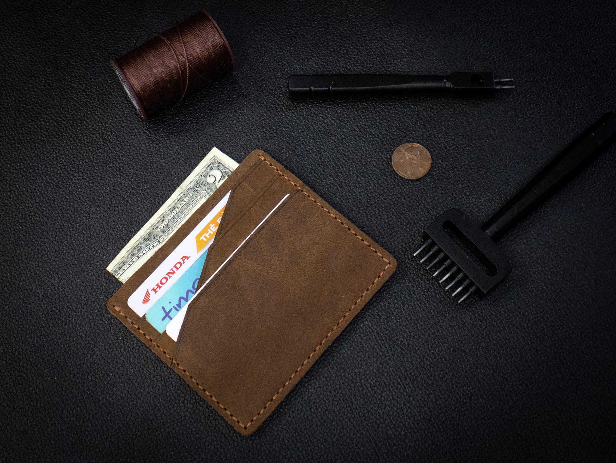 Bóp Da Mini Da Bò Thật Đẳng Cấp Thời Trang Hàng Hiệu MST4-1