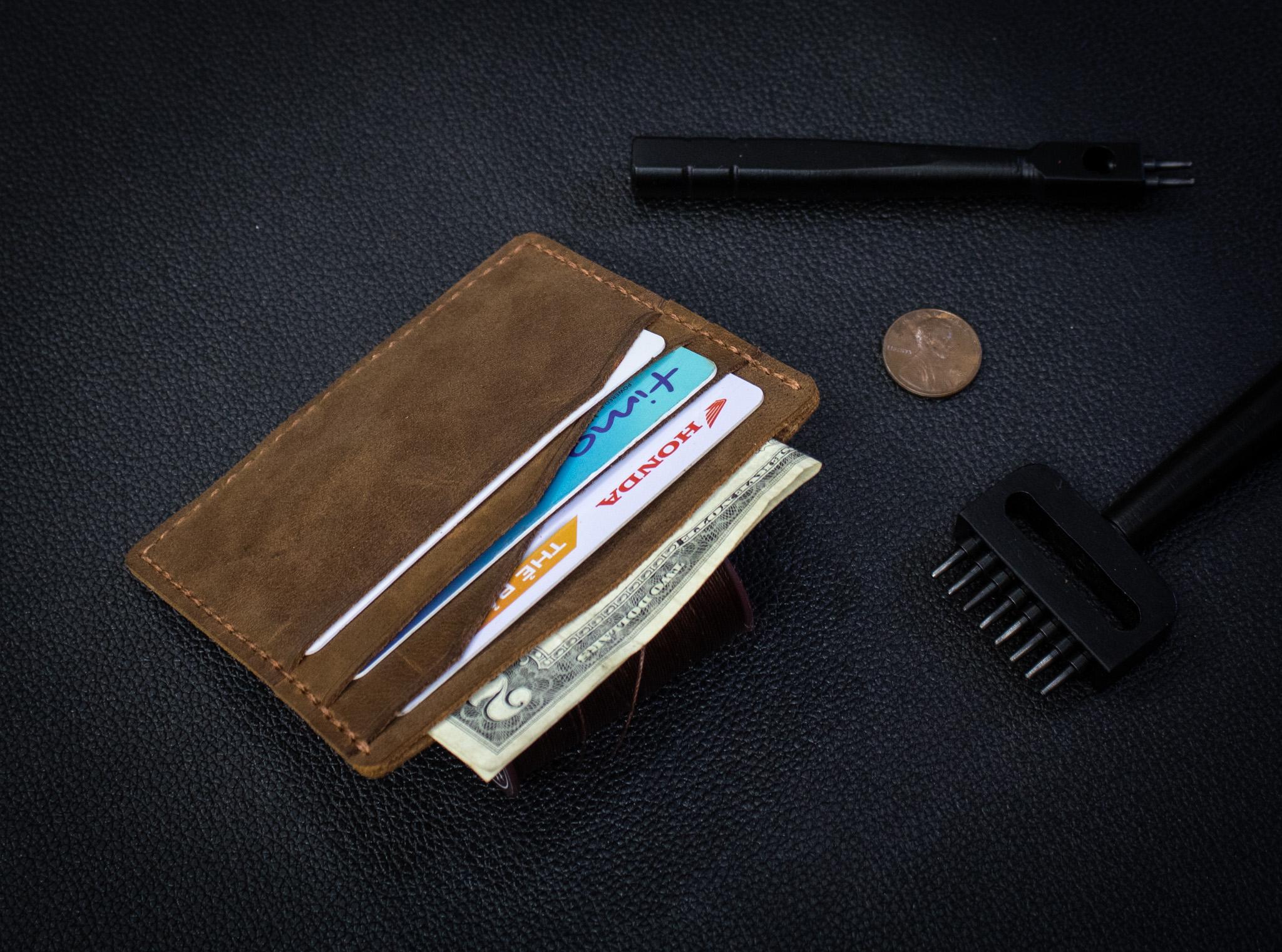 Bóp Da Mini Da Bò Thật Đẳng Cấp Thời Trang Hàng Hiệu MST4-4