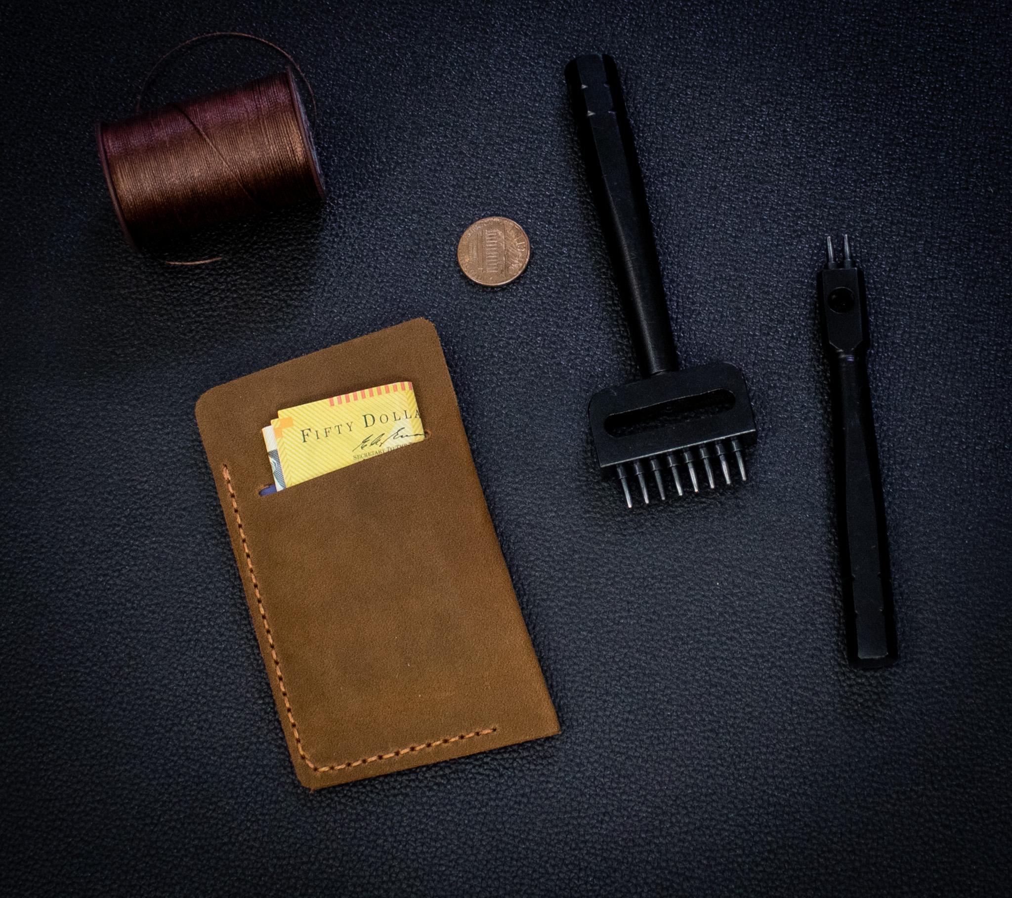 Ví Da Mini Handmade Da Bò Thật Nhập Khẩu Tinh Tế MST5-2