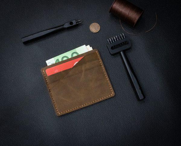 Bóp Da Mini Da Bò Thật Đẳng Cấp Thời Trang Hàng Hiệu MST4