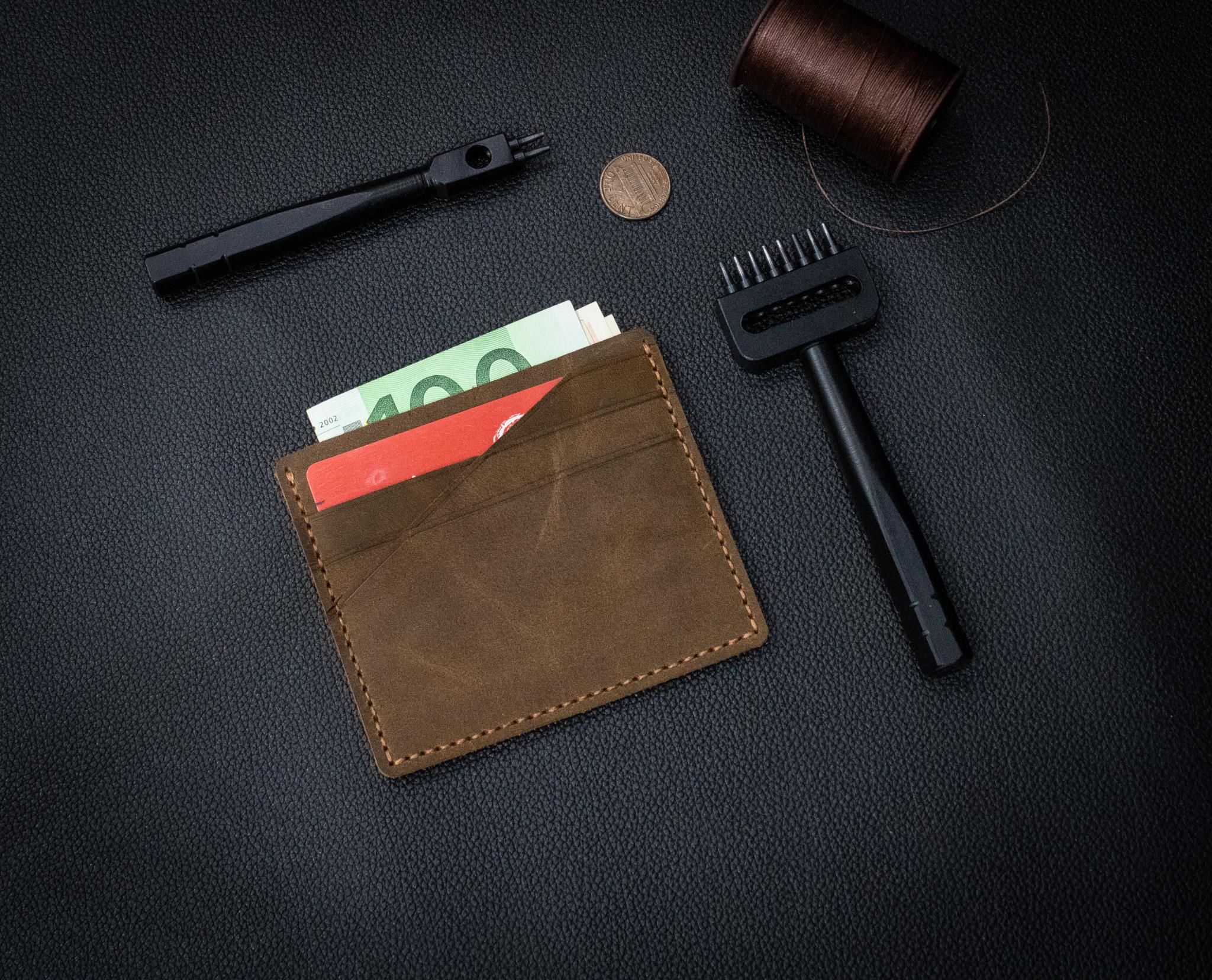 Bóp Da Mini Da Bò Thật Đẳng Cấp Thời Trang Hàng Hiệu MST4-5