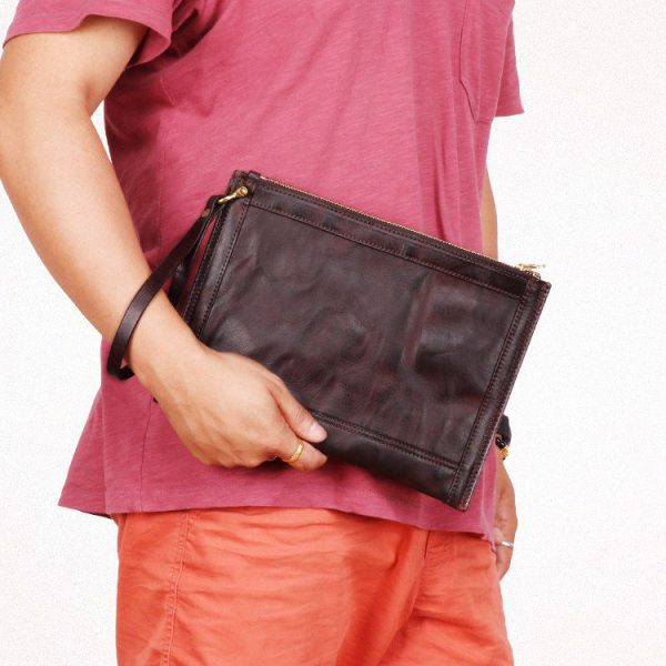 Túi đựng iPad cầm tay mini da bò nhập hàng hiệu IPM1