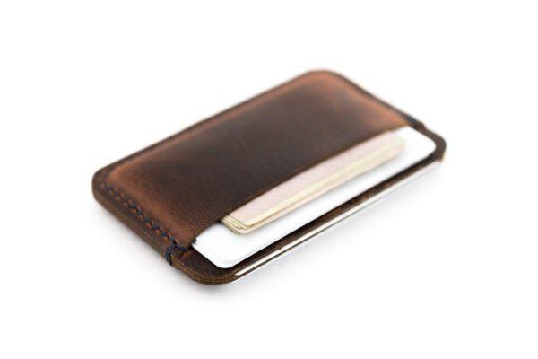 Ví Da Mini Kiểu Dáng Nhỏ Nhẹ Đựng Thẻ, Tiền Gấp Đôi SMN04