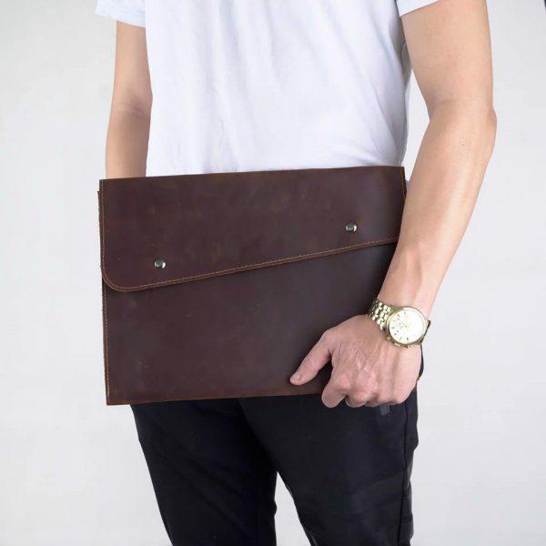 Clutch Bag thời trang cầm tay đựng iPad hàng hiệu handmade SCK12