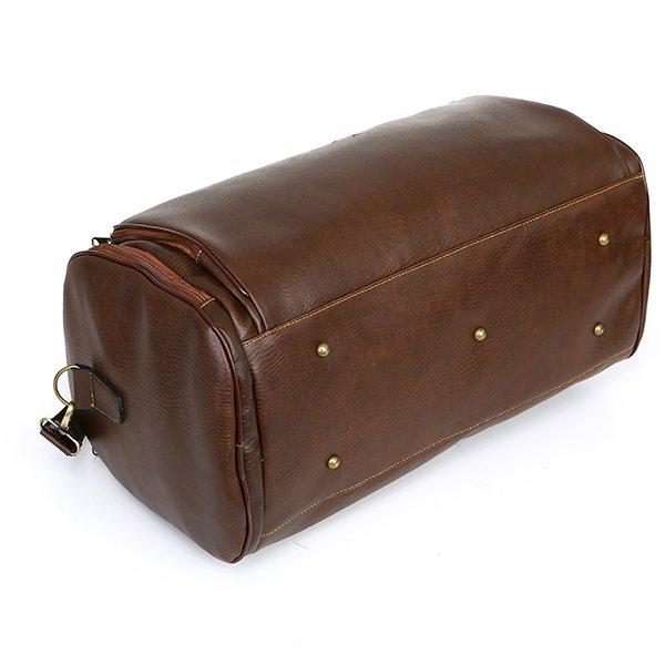 Túi xách du lịch hàng hiệu chính hãng thời trang MS02 Cafe