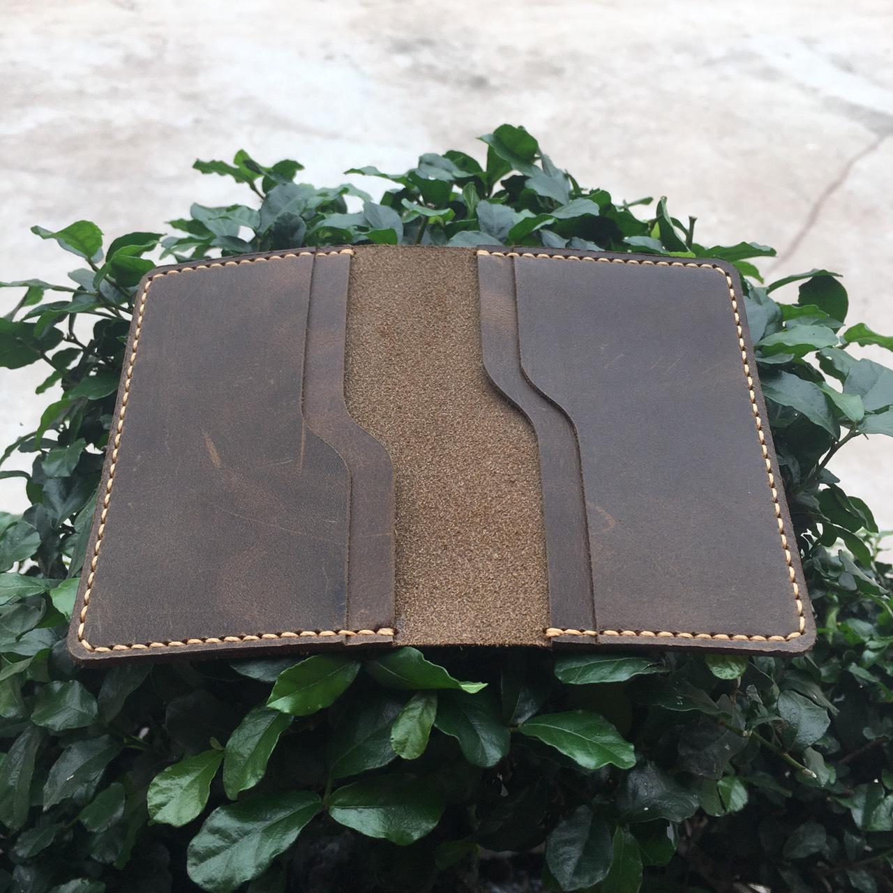 Ví Da Mini Handmade Giản Đơn Tinh Tế MVN1