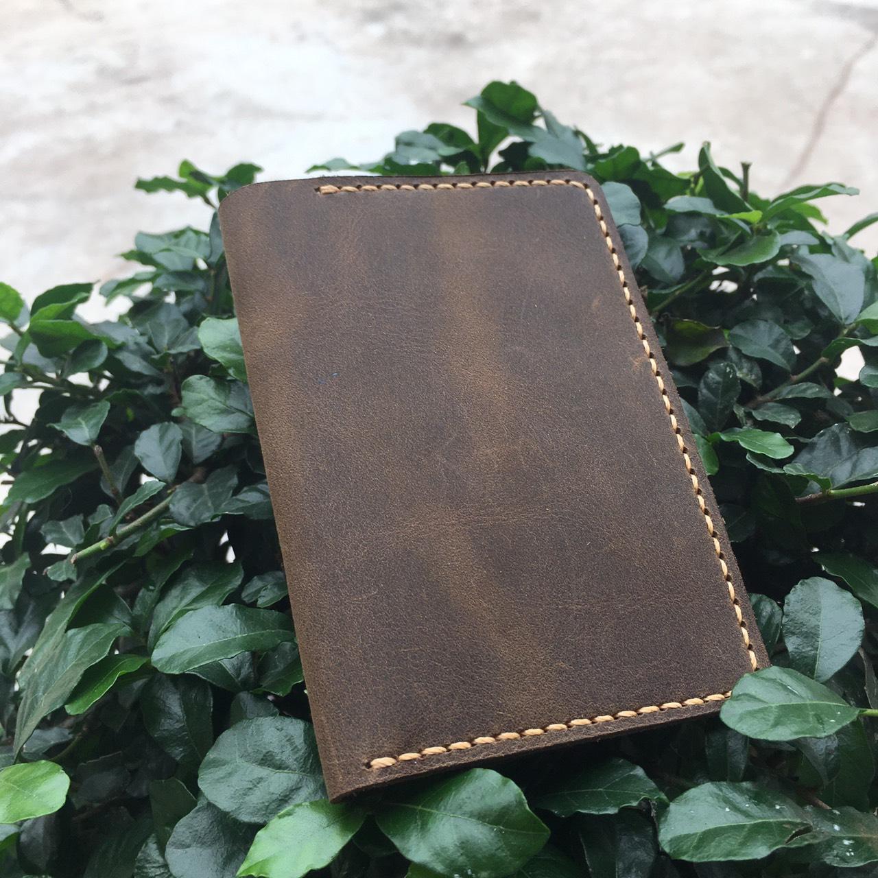 Ví Da Mini Handmade Giản Đơn Tinh Tế MVN1-4