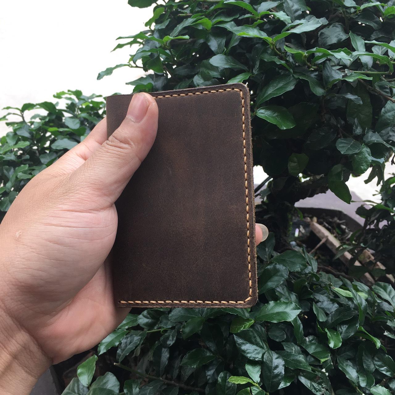 Ví Da Mini Handmade Giản Đơn Tinh Tế MVN1-6