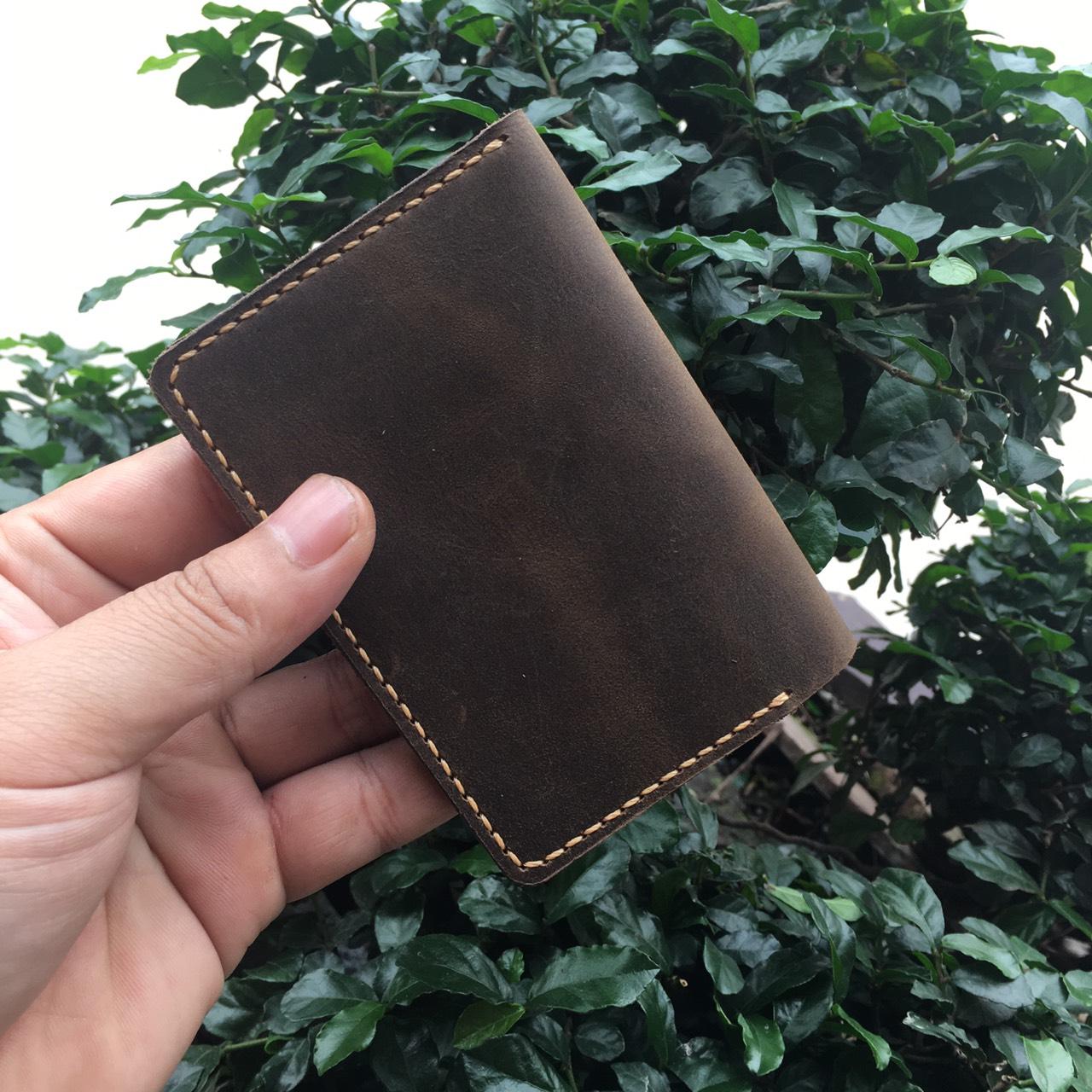Ví Da Mini Handmade Giản Đơn Tinh Tế MVN1-7