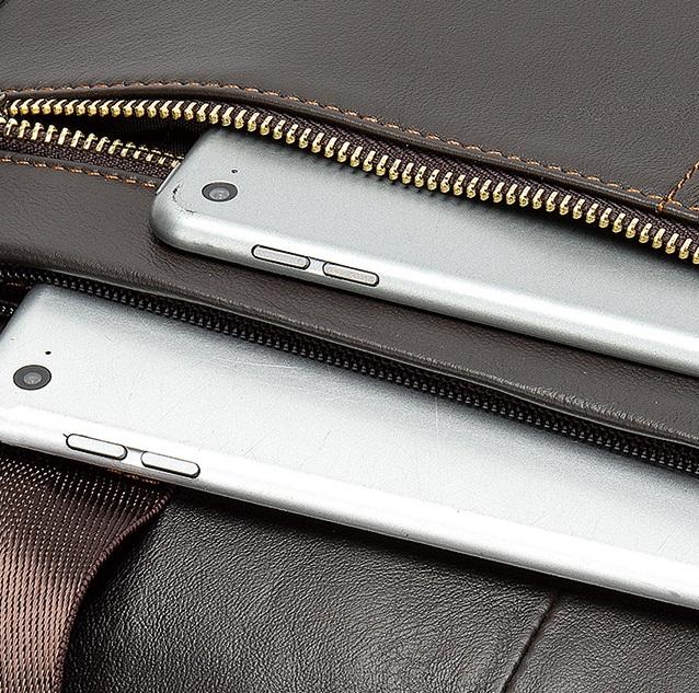 Túi Xách Nam Da Bò Thật Đựng Laptop Thời Trang Hàng Hiệu STX39-22