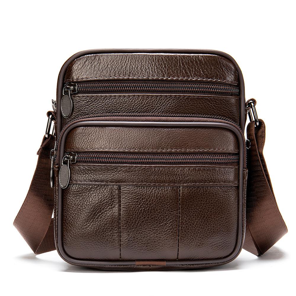 Túi Đeo Chéo Đựng iPad Da Bò Thật Thời Trang Hàng Hiệu STC85-2