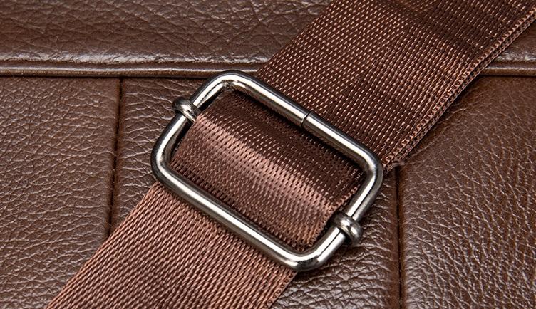 Túi Đeo Chéo Đựng iPad Da Bò Thật Thời Trang Hàng Hiệu STC85-8