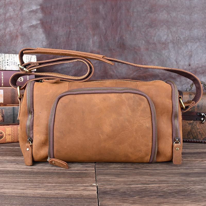 Túi Đeo Chéo Đựng iPad, Túi Messenger, Túi Zip , Túi Trống Mini AV9-1