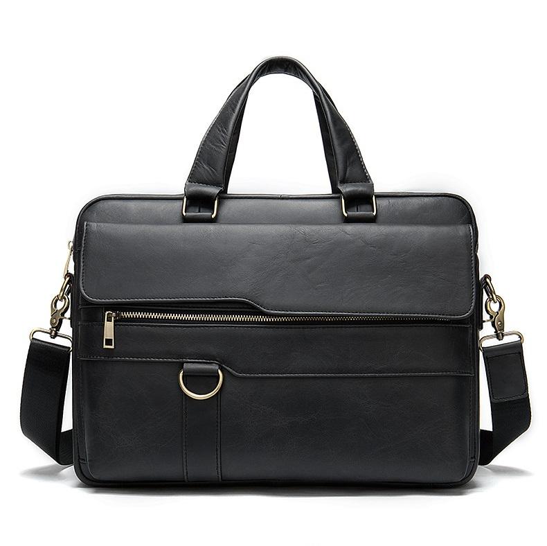 Túi xách nam da bò thật hàng hiệu đựng laptop STX19-6