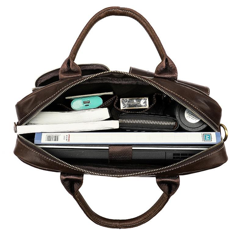 Túi Xách Nam Đựng Laptop Da Bò Thật Nhập Khẩu STX59 Gray-2