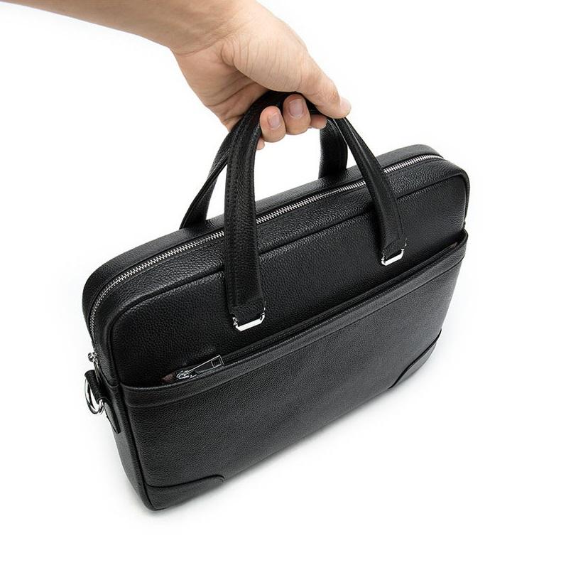 Túi Xách Nam Da Bò Thật Nhập Khẩu Đựng Laptop Thời Trang XTS29-6