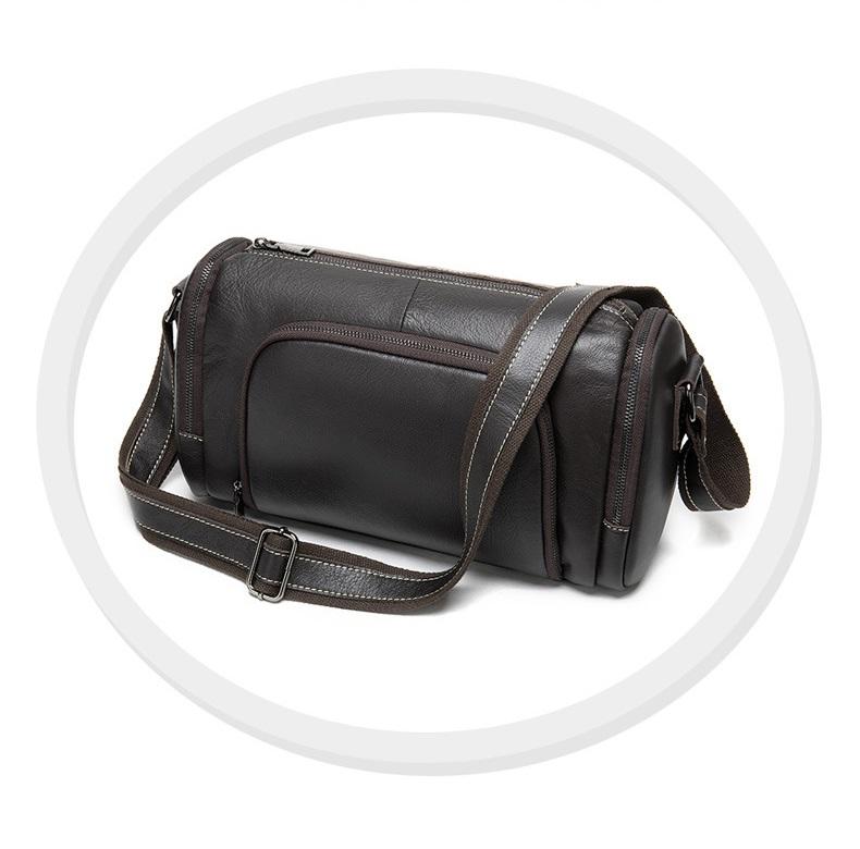Túi Trống Zip Mini Da Bò Đựng iPad Thật Phong Cách Thời Trang Arrival-5