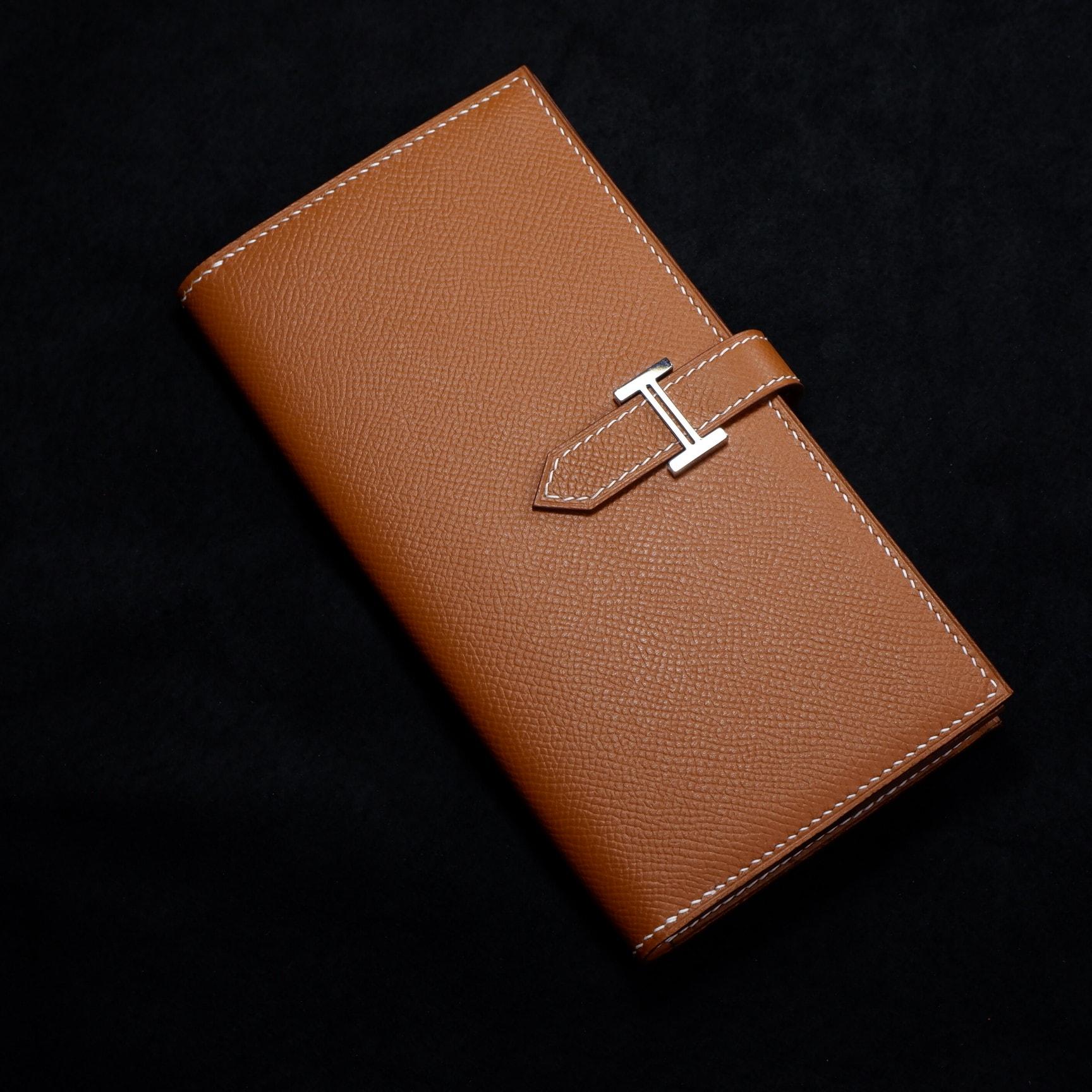 ví da nữ cầm tay handmade
